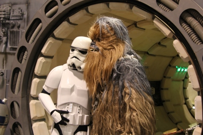 SWCA_-_A_Stormtrooper_and_Chewie_(17201213072)