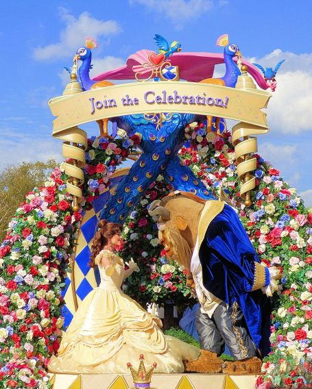 Disney's Festival of Fantasy Parade at Magic Kingdom, Princess Garden Unit